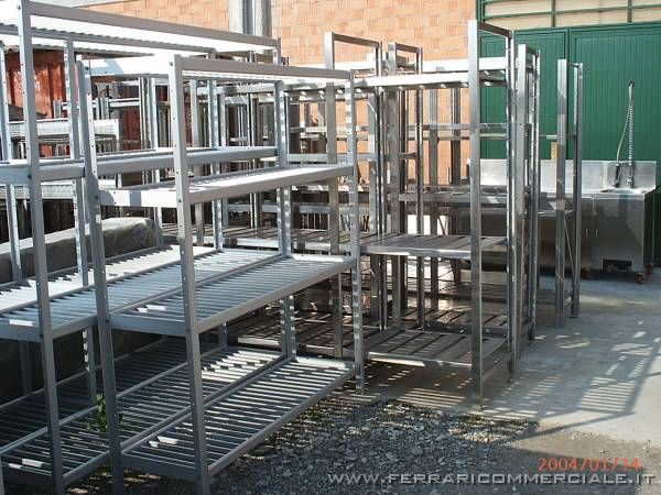 Scaffalature In Alluminio.Scaffalature In Alluminio